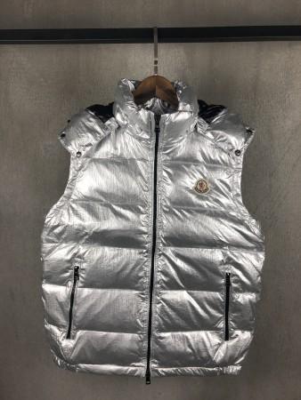 UA Moncler Vest Silver