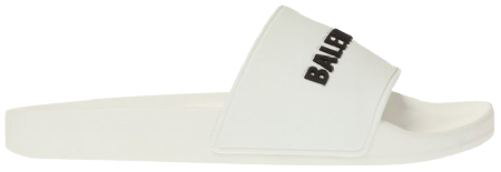 UA Balenciaga Pool Slide White