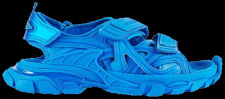 UA Balenciaga Track Sandal Blue