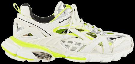 UA Balenciaga Track.2 White Fluo Yellow