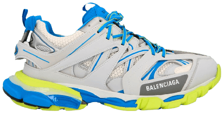 UA Balenciaga Track Trainer Grey Blue