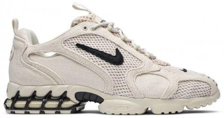 UA Nike Air Zoom Spiridon Cage 2 Stussy Fossil