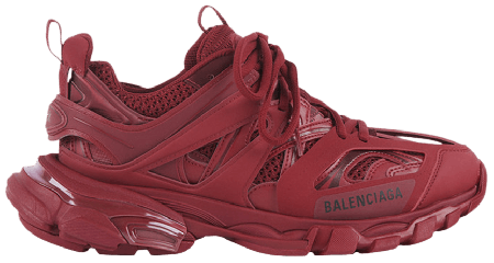 UA Balenciaga Track Burgundy