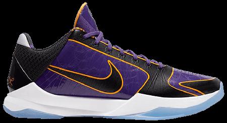 UA Nike Kobe 5 Protro Lakers