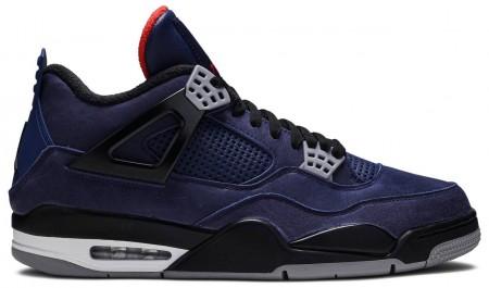 UA Air Jordan 4 Retro Winterized Loyal Blue