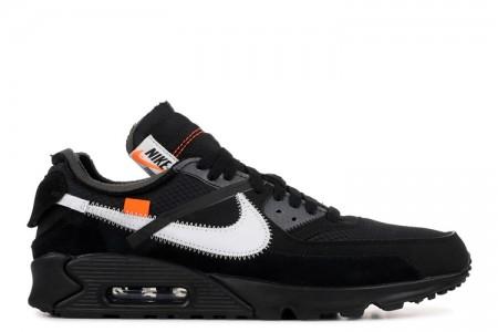 "The 10: UA Nike Air Max 90 ""OFF-WHITE"" Black"
