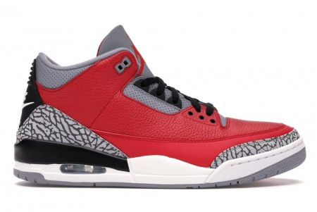 UA Air Jordan 3 Retro SE Unite Fire Red