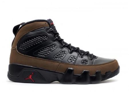 "UA Air Jordan 9 Retro ""Olive 2012 Release"""