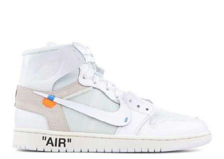 UA Air Jordan 1 X OFF WHITE NRG High White for Sale