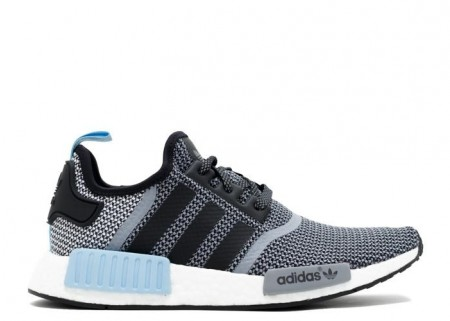Cheap NMD R1 Grey Blue Black Sneaker Shoes
