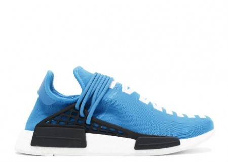 Cheap NMD Human Race Aqua Blue White