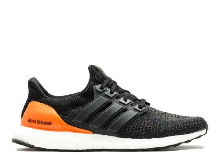 Cheap Ultra Boost M NCAA Miami Hurricanes Black Orange