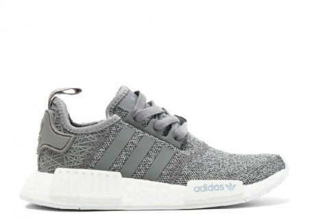 UA NMD R1 W JD Sports Grey White