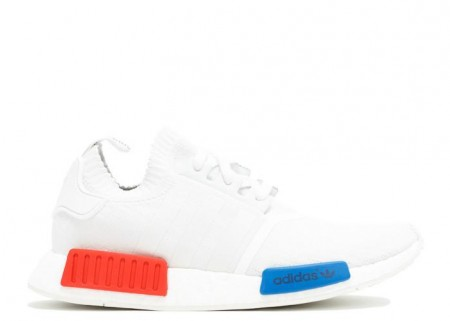 NMD RUNNER PK WHITE RED BLUE SNEAKER