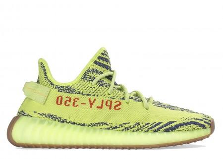 "UA II Adidas Boost 350 v2 ""Semi-frozen Yellow"" 2017 Shoes Online"