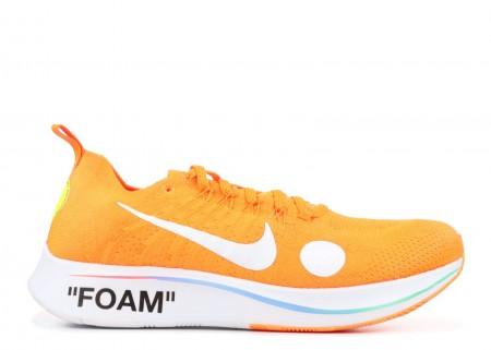 UA OFF WHITE Nike Zoom Fly  Mercurial  FK/OW Orange Online