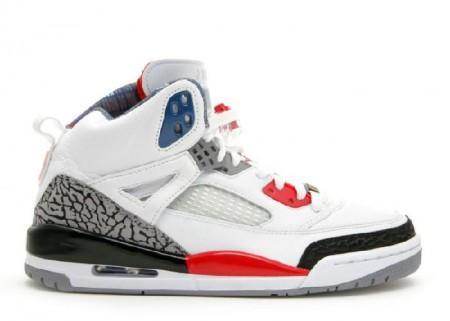 UA  Air Jordan Spiz'lke Mars Blackmon White Fire Red Black