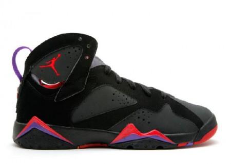 UA Air Jordan 7 Retro (Gs) Defining Moments Black