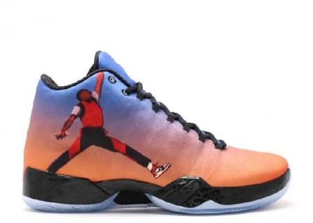 UA Air Jordan 29 Photo Reel Team Orange Gym Black
