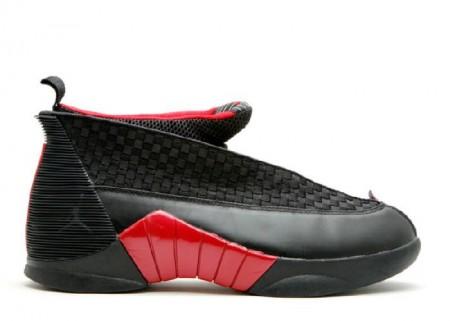 UA Air Jordan 15 Retro Countdown Pack Black Red