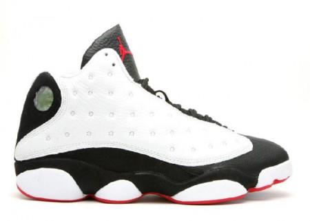 UA Air Jordan 13 Retro Countdown Pack White Black True Red