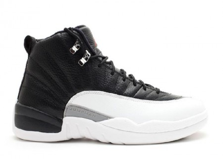 UA Air Jordan 12 Retro Playoff 2012 Release Black Varsity Red White