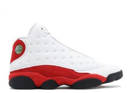 UA Air Jordan 13 Retro Chicago 2017 White Black Team Red
