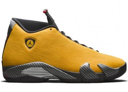 """UA Jordan 14 Retro  """"Yellow Ferrari"""""""