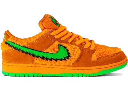 UA Nike SB Dunk Low Grateful Dead Bears Orange