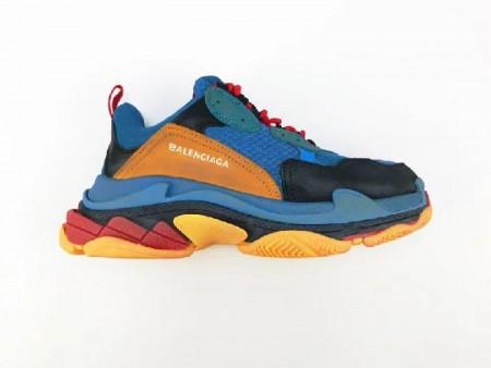 UA Triple S Blue Yellow Black Sneakers Online