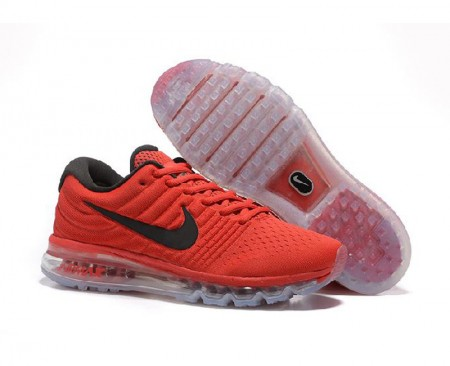 Air Max 2017 Red Black Running Sneakers