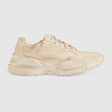 UA Gucci Rhyton leather sneaker Online
