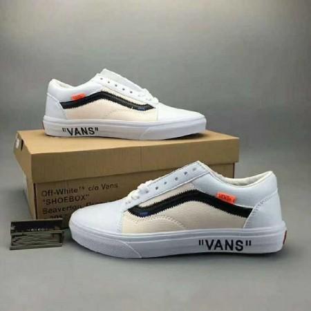 UA Off White x Vans Old Skool White Beige Online