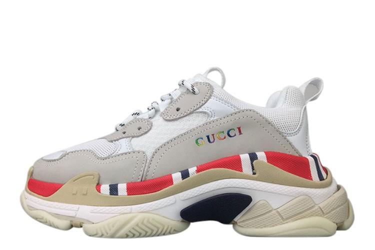 e7c4c06cf Best UA Gucci Balenciaga Triple S Sneakers Sale at Cheap Price ...