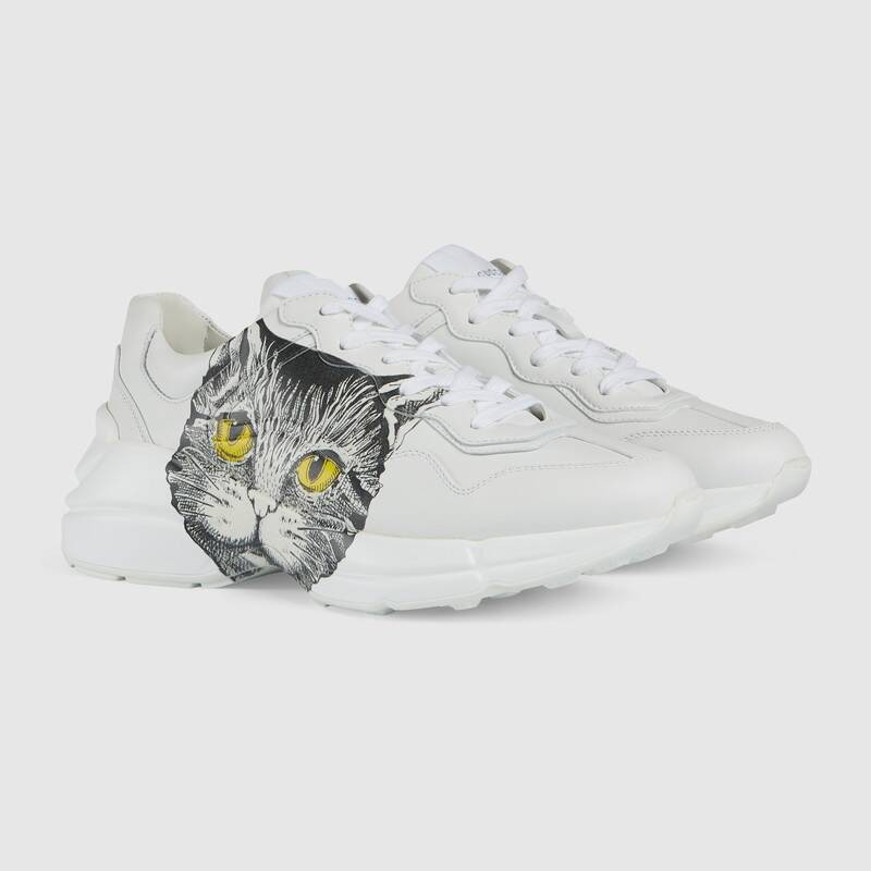 40686e330 UA Gucci Rhyton sneaker with Mystic Cat Online