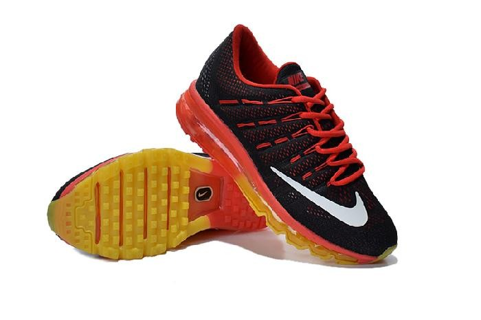 d46d56efa6 Good Quality Nike Air Max 2016 Yellow Red Black Running Shoes