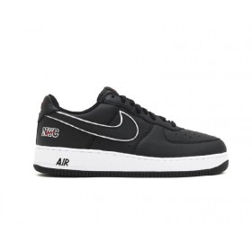 Air Force 1 Low Retro NYC Black White Varsity Red