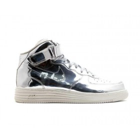 Lunar Force 1 Mid SP Liquid Silver
