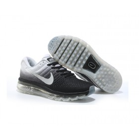 Air Max 2017 Black White Sports Running Shoes