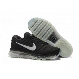 Air Max 2017 Black Silver Sports Running Shoes