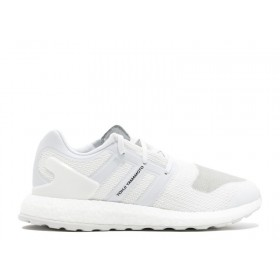 "UA ADIDAS Y-3 PUREBOOST ""CRYSTAL WHITE"" SHOES for Sale"