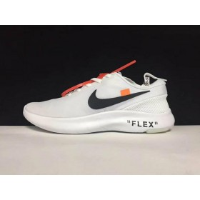 UA Off White X Flex Experience RN 7 White On Sale