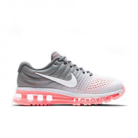 UA Air Max 2017 Grey Pink Sports Running Shoes