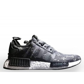UA LV X Adidas NMD XR1 Black Colorway for Sale