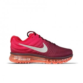 UA Air Max 2017 Rose Red Black Running Shoes
