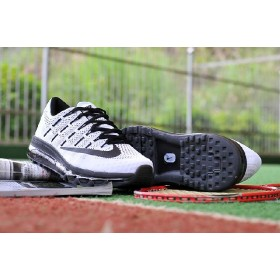 Lastet Nike Air Max 2016 On Sale White Black Running Shoes