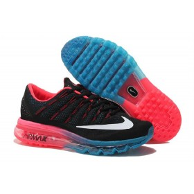 Nike Air Max 2016 Blue Red Black Running Shoes