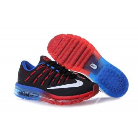 Good Nike Air Max 2016 On Sale Blue Black Red Running Shoes