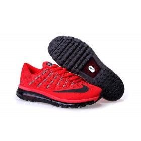 Nike Air Max 2016 For Sale Red Black Running Shoes