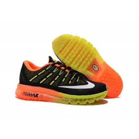 Comfort Nike Air Max 2016 Orange Yellow Black Running Shoes